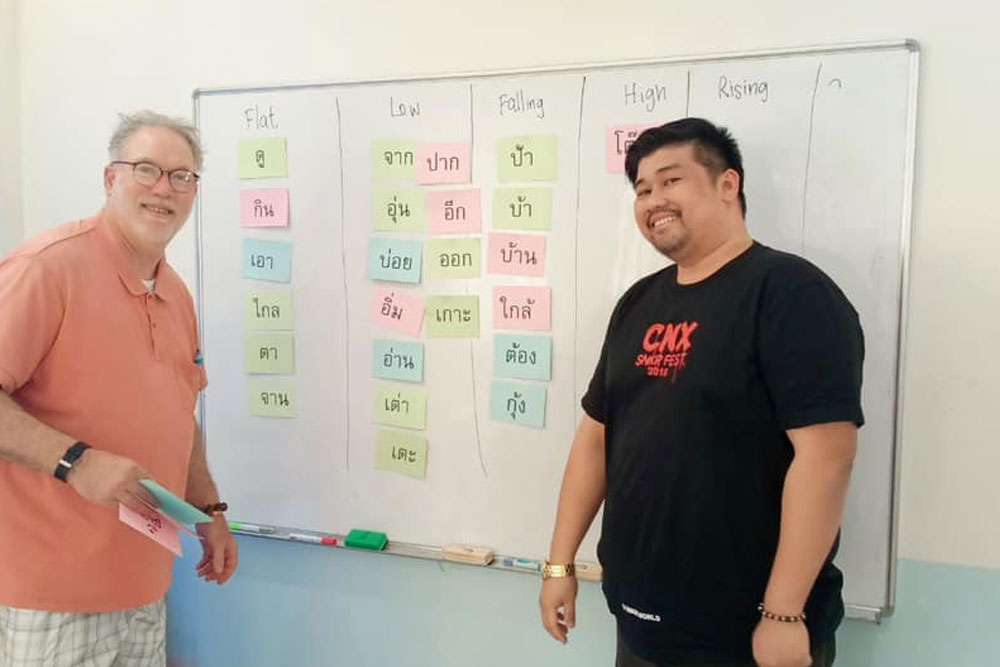 Thai Lessons in Chiang Mai